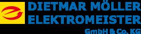 Logo von Dietmar Möller Elektromeister GmbH & Co. KG